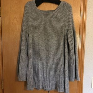 Women's XL lace up swing pullover